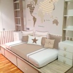 Dormitorio worldmap beige 01